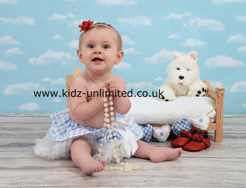 Dorothy Rose – Dover Baby Photographer – Sitting Baby Photo Shoot