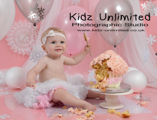 Herne Bay Cake Smash shoot – Ellaria 1 Year old