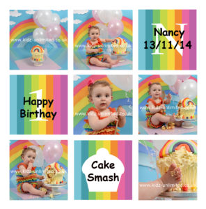 Cake Smash Rainbow Deal. Kent