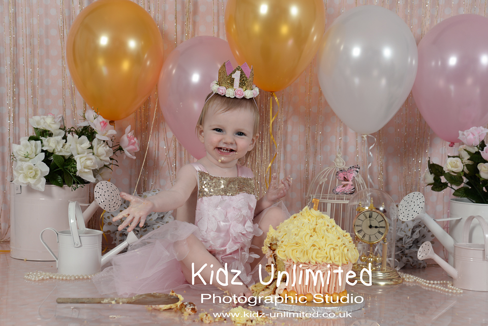 Cake Smash Princess Ramsgate Kent