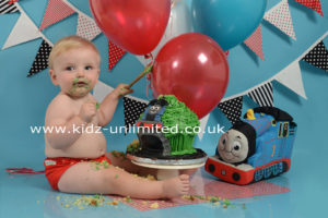 Cake Smash Thomas Tank Engine