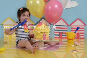 Cake Smash Beach Huts Broadstairs Kent