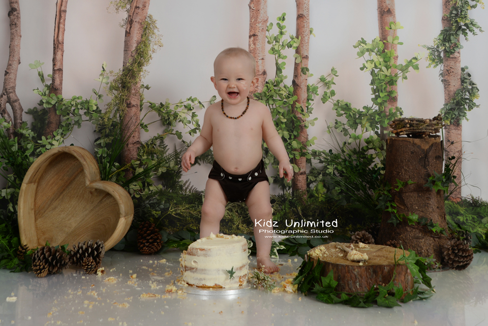 Forest theme for Broadstairs Cake Smash